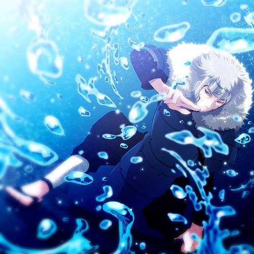 tobirama senju water dragon